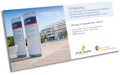 Eröffnung Concussion Center Würzburg-Nordbayern