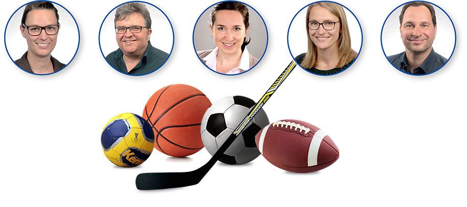 Das Team der Praxis für Sport-Neuropsychologie