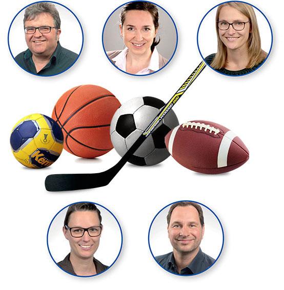Praxis für Sport-Neuropsychologie Würzburg - Collage