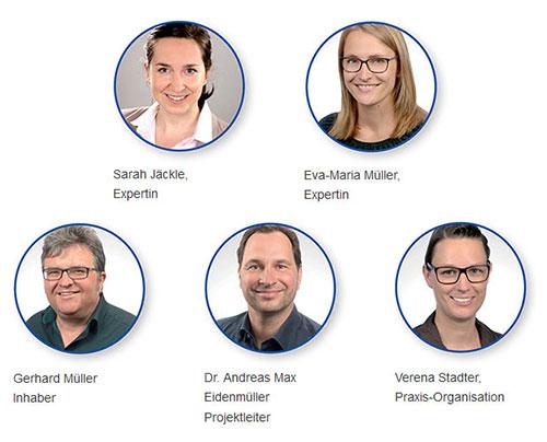 Praxis für Sport-Neuropsychologie - Team in Würzburg