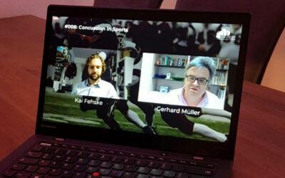 """""""Concussion in Sports"""": Online-Vortrag von Gerhard Müller zusammen mit Dr. Kai Fehske (Universität Würzburg)"""