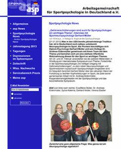 Arbeitsgemeinschaft für Sportpsychologie in Deutschland e.V.