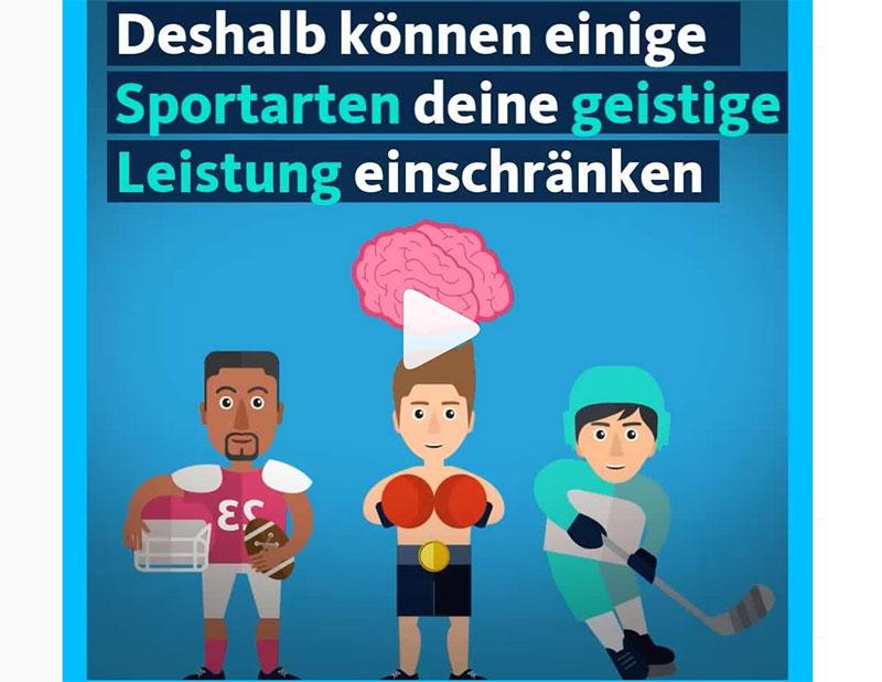 WDR Quarks warnt vor Kopfverletzungen im Sport