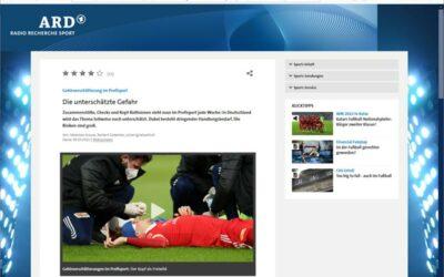 ARD Radio Recherche:  Gehirnerschütterung im Profisport: Die unterschätzte Gefahr